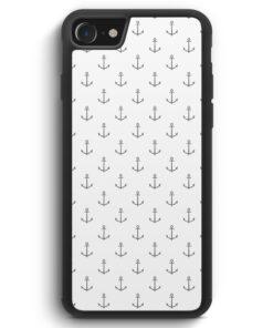 iPhone SE 2020 Silikon Hülle - Anker Muster