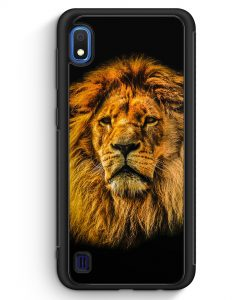 Samsung Galaxy A10 Silikon Hülle - Löwe Lion Strahlend