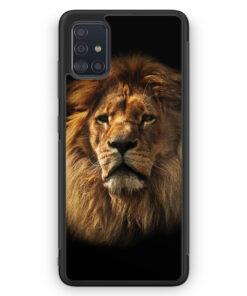 Samsung Galaxy A51 Silikon Hülle - Löwe Lion Foto