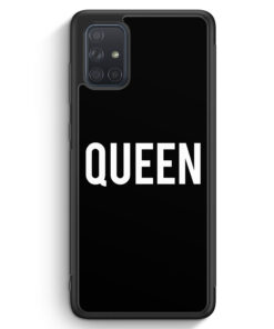 Samsung Galaxy A71 Silikon Hülle - Queen BK