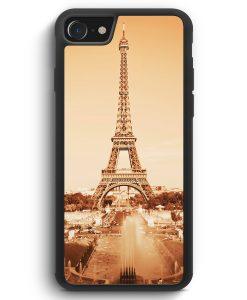 iPhone SE 2020 Silikon Hülle - Eiffelturm Foto