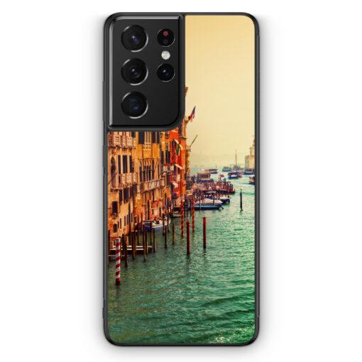 Samsung Galaxy S21 Ultra Silikon Hülle - Venezia Venedig Potrait