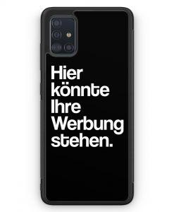 Samsung Galaxy A51 Silikon Hülle - Hier könnte Ihre Werbung stehen