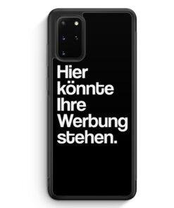 Samsung Galaxy S20+ Plus Silikon Hülle - Hier könnte Ihre Werbung stehen