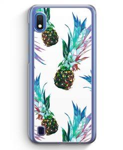 Samsung Galaxy A10 Hülle - Ananas Tropical Blau Grün