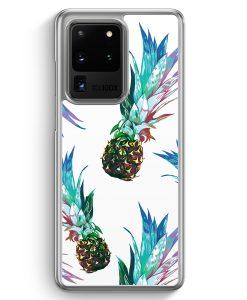 Samsung Galaxy S20 Ultra Hülle - Ananas Tropical Blau Grün
