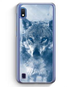 Samsung Galaxy A10 Hülle - Wolf Foto