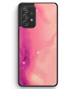 Pastell Galaxy Pink - Silikon Hülle für Samsung Galaxy A72