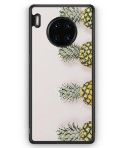 Huawei Mate 30 Pro Silikon Hülle - Ananas Foto Tropical