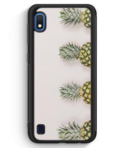 Samsung Galaxy A10 Silikon Hülle - Ananas Foto Tropical