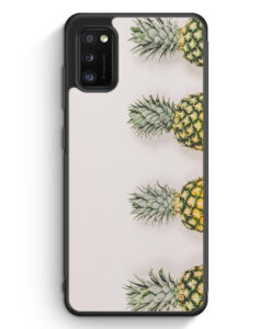 Samsung Galaxy A41 Silikon Hülle - Ananas Foto Tropical