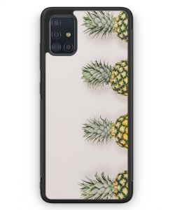 Samsung Galaxy A51 Silikon Hülle - Ananas Foto Tropical