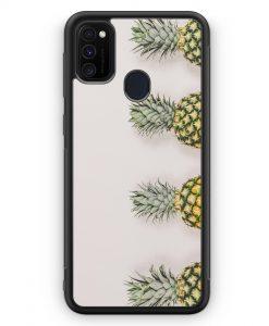 Samsung Galaxy M30s Silikon Hülle - Ananas Foto Tropical