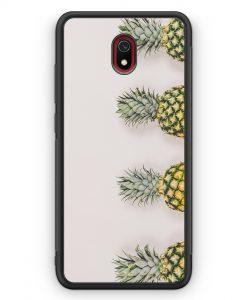 Xiaomi Redmi 8A Silikon Hülle - Ananas Foto Tropical