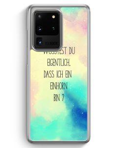 Samsung Galaxy S20 Ultra Hülle - Wusstest du eigentlich