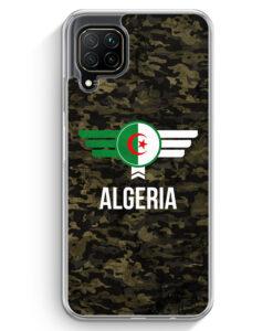 Huawei P40 lite Hülle - Algerien Algeria Camouflage mit Schriftzug
