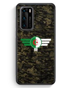 Huawei P40 Silikon Hülle - Algerien Algeria Camouflage