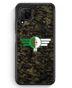 Huawei P40 lite Silikon Hülle - Algerien Algeria Camouflage