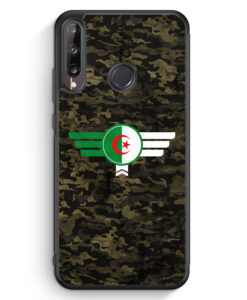 Huawei P40 lite E Silikon Hülle - Algerien Algeria Camouflage