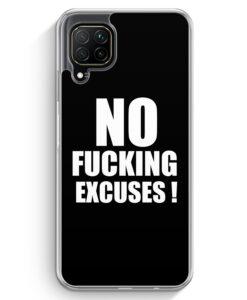 Huawei P40 lite Hülle - NO Fucking Excuses