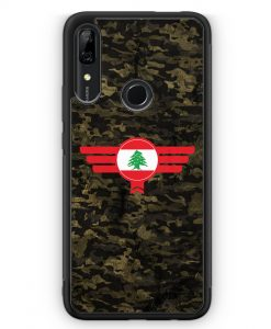 Huawei P Smart Z Silikon Hülle - Libanon Lebanon Camouflage