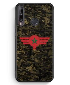 Huawei P40 lite E Silikon Hülle - Marokko Morocco Camouflage