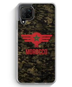 Huawei P40 lite Hülle - Marokko Morocco Camouflage mit Schriftzug