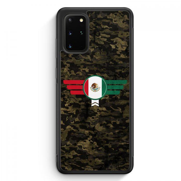 Samsung Galaxy S20+ Plus Silikon Hülle - Mexico Mexiko Camouflage