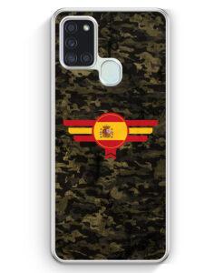 Samsung Galaxy A21s Hülle - Espana Spanien Camouflage