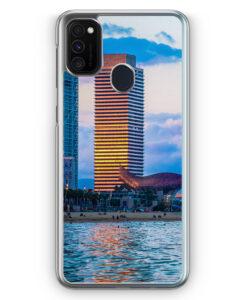 Samsung Galaxy M21 Hülle - Barcelona Foto Strand