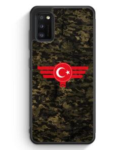 Samsung Galaxy A41 Silikon Hülle - Türkiye Türkei Camouflage