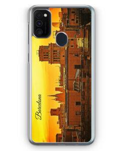 Samsung Galaxy M21 Hülle - Panorama Barcelona