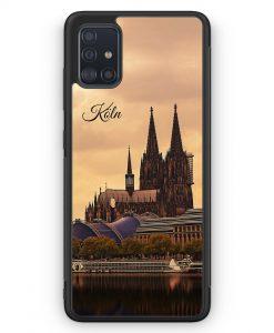 Samsung Galaxy A51 Silikon Hülle - Panorama Köln Kölner Dom