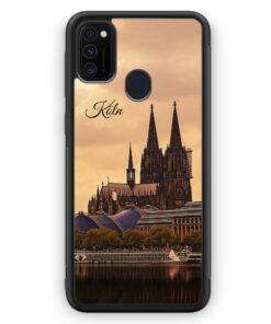 Samsung Galaxy M30s Silikon Hülle - Panorama Köln Kölner Dom