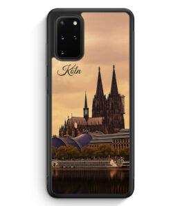 Samsung Galaxy S20+ Plus Silikon Hülle - Panorama Köln Kölner Dom