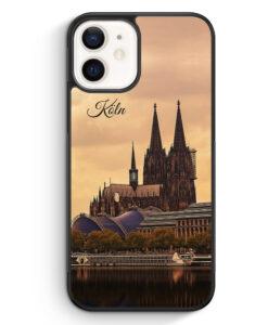 iPhone 12 Silikon Hülle - Panorama Köln Kölner Dom