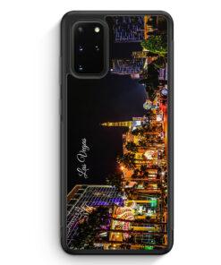 Samsung Galaxy S20+ Plus Silikon Hülle - Panorama Las Vegas