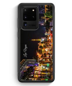 Samsung Galaxy S20 Ultra Silikon Hülle - Panorama Las Vegas