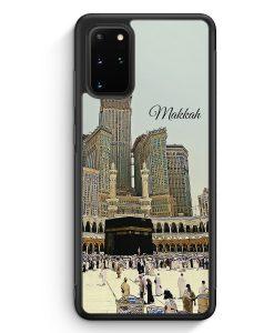 Samsung Galaxy S20+ Plus Silikon Hülle - Panorama Makkah Mekka