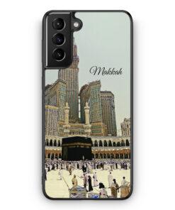 Samsung Galaxy S21 Silikon Hülle - Panorama Makkah Mekka