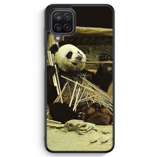 Samsung Galaxy A12 Silikon Hülle - Cooler Panda
