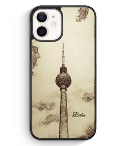 iPhone 12 mini Silikon Hülle - Vintage Panorama Berlin