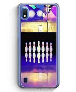 Samsung Galaxy A10 Hülle - Kegeln Bowling