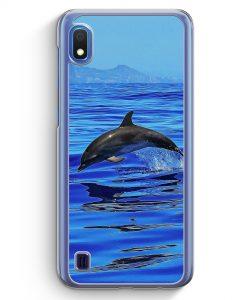Samsung Galaxy A10 Hülle - Delfin Delphin Meer