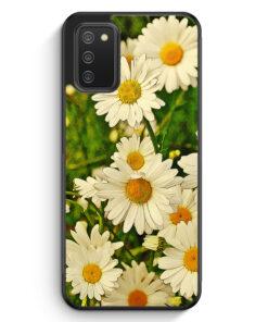 Gänseblümchen Landschaft - Silikon Hülle für Samsung Galaxy A02s