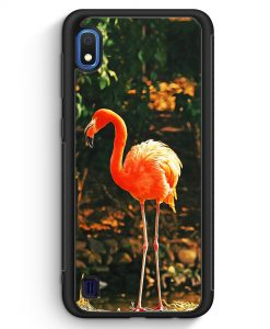 Samsung Galaxy A10 Silikon Hülle - Flamingo Foto