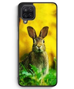 Samsung Galaxy A12 Silikon Hülle - Hase