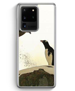 Samsung Galaxy S20 Ultra Hülle - Pinguin & Vogel