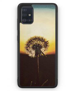 Samsung Galaxy A51 Silikon Hülle - Pusteblume