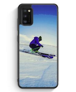Samsung Galaxy A41 Silikon Hülle - Ski